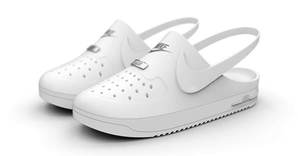 Liệu bạn có muốn diện thử đôi Crocs x Nike Air Force 1 này không?