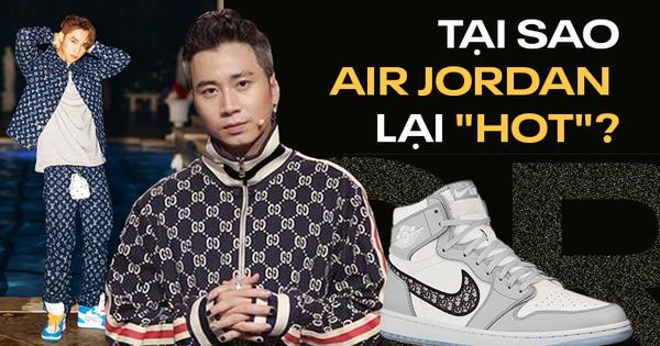 Air Jordan bỗng dưng ''hot'' rần rần tại Việt Nam: Giải mã cơn sốt bắt nguồn từ Rap Việt và King Of Rap