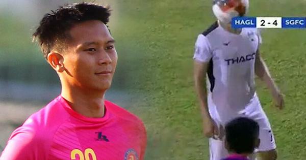 Cầu thủ ném bóng vào mặt Hồng Duy bị cấm thi đấu hai trận, bị đánh giá là có ''hành vi bạo lực''