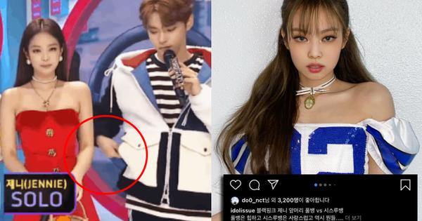 Tranh cãi Doyoung (NCT) lỡ like ảnh Jennie, Knet liền ''đào'' lại hành động của nam idol với mỹ nhân BLACKPINK 2 năm trước