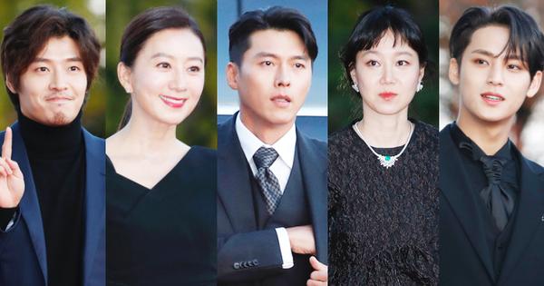 Quân đoàn sao đổ bộ thảm đỏ khủng: Hyun Bin ngời ngời sau tin kết hôn, Junsu - SEVENTEEN ''cứu'' 2 màn dìm visual gây choáng