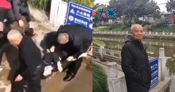 Cả nhà nhảy xuống sông để cứu con gái tự tử, nào ngờ không ai biết bơi khiến cụ ông 73 tuổi phải ra tay cứu cả 4 người