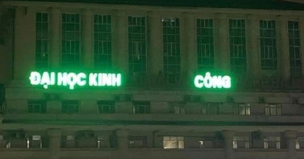 Xuất hiện trường Đại học có cái tên cực lạ ''Đại học Kinh Công'': Lý do đằng sau là gì