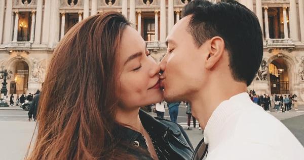 """Hà Hồ khoe ảnh khoá môi, chúc sinh nhật ông xã Kim Lý cực ngôn tình: """"Em yêu anh, đó là điều em thú nhận với thế giới"""""""