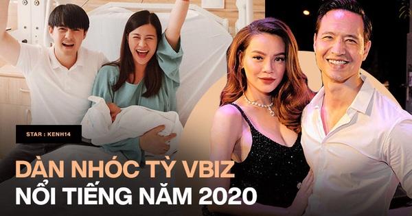 Dàn nhóc tỳ Vbiz chào đời năm 2020: Con nhà Đông Nhi được cả showbiz săn đón, cặp sinh đôi nhà Hà Hồ được chăm như VIP
