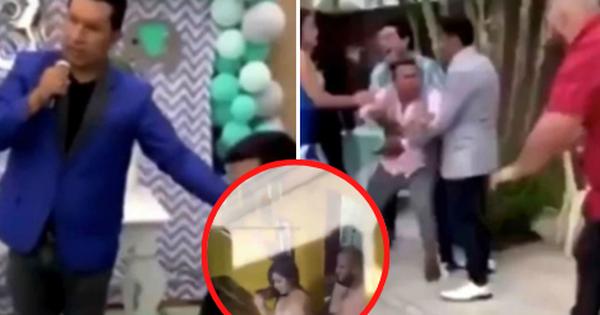 Biết vợ mang thai với kẻ khác, chồng giả vờ mở tiệc ăn mừng, mời cả kẻ thứ 3 rồi chiếu luôn video bằng chứng cho tất cả quan khách xem