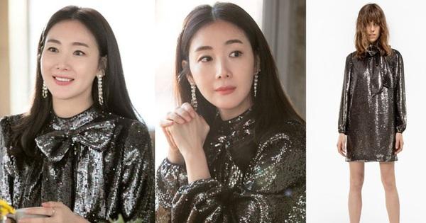 """Xuất hiện vài phút trong """"Hạ Cánh Nơi Anh"""", Choi Ji Woo đem đến đẳng cấp khác hẳn cho chiếc đầm 22 triệu, đẹp ăn đứt người mẫu"""