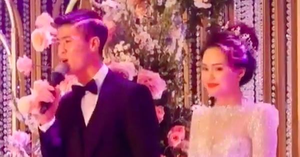 Hát tặng cô dâu trong đám cưới có khác, Duy Mạnh gây bất ngờ khi hát chuẩn nhạc, ngọt như ''mía lùi'' và đặc biệt là... hết ngọng