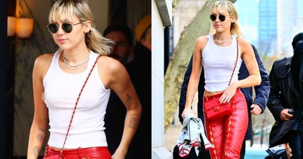 Miley Cyrus ''thả rông'' táo bạo tại sự kiện nhưng dân tình chỉ dán mắt vào đôi chân thon nuột nà của cô nàng