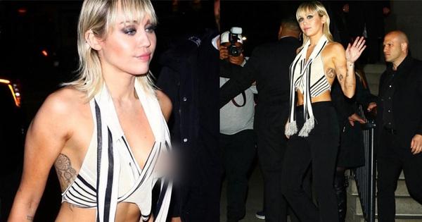 Hớ hênh một cách chủ động: Miley Cyrus mặc áo lộ nhũ hoa rồi điềm nhiên đăng ảnh hô hào fan vào xem