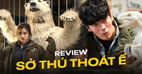 Review Sở Thú Thoát Ế: Mang theo bình oxy đề phòng cười nín thở, kịch bản ''đúng dị'' chỉ người Hàn mới nghĩ ra!