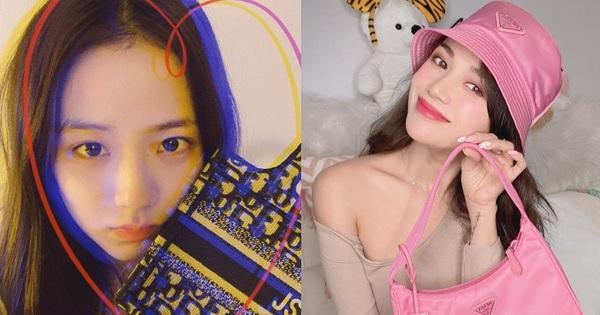 """Quà Valentine đáng thèm muốn của sao Việt – Hàn: Jisoo có túi Dior """"hàng thửa"""", Sĩ Thanh khoe combo đồ hiệu màu hường từ bạn trai"""