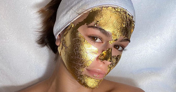 Đắp thử mặt nạ vàng 24K giá 2 triệu/lần của các ngôi sao, 5 cô nàng cảm thấy như vua chúa, da căng bóng tức thì