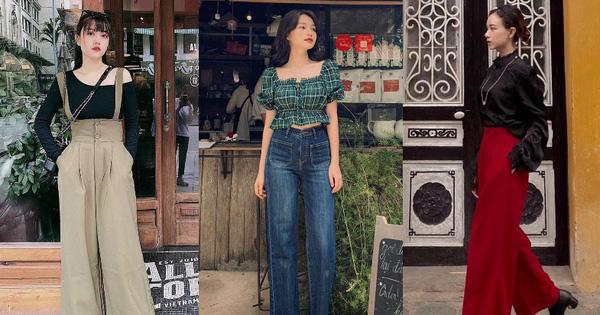 Street style hội sành mặc Instagram: Quần ống rộng ''càn quét'' mọi mặt trận, ai diện chân cũng dài đến nách