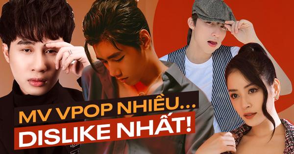Những MV bị ''ghét'' nhất Vpop: K-ICM phá mọi kỷ lục chỉ trong 1 ngày, Sơn Tùng M-TP có tới... 4 sản phẩm nằm top