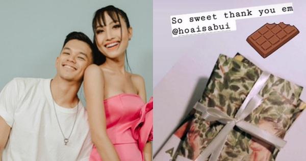 """Hoài Sa nhất quyết tặng socola cho Trọng Hiếu dù Valentine đã qua: Cứ ngọt thế này bảo sao netizen ghen tỵ """"nổ mắt"""""""