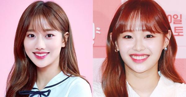 Nhiều người hẳn là phải cần kính lúp để phân biệt Naeun (April) và Chuu (Loona) vì độ giống nhau của họ lên đến 90%