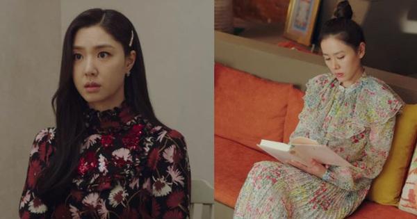 2 chị đẹp ''Crash Landing On You'' đều mê váy hoa dáng dài, nàng công sở học ngay vài cách mix để diện khi trời ấm