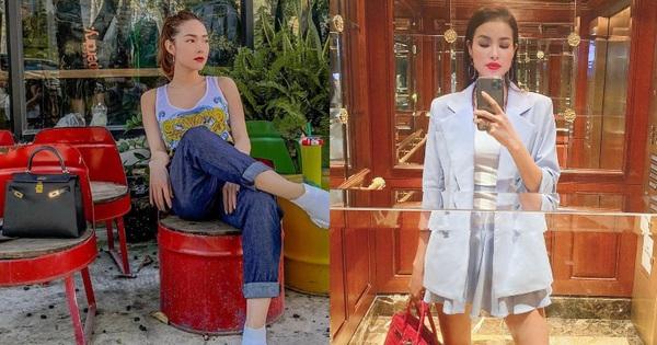 """Hội đại gia túi Hermès mới lộ diện của V-biz: Minh Hằng than hết """"thóc"""" mà túi hiệu đầy ắp, Joyce Phạm cứ vài bữa rước một """"em"""""""