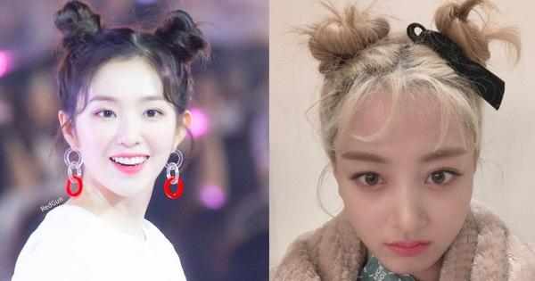 Kiểu tóc búi Pucca người thường diện dễ ''fail'' là thế nhưng idol Hàn quẩy lên lại xinh yêu mỹ mãn