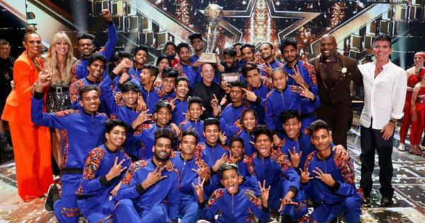 """Nhóm nhảy đến từ khu ổ chuột tại Ấn Độ thắng """"America's Got Talent"""" với giải thưởng 23,2 tỷ đồng!"""