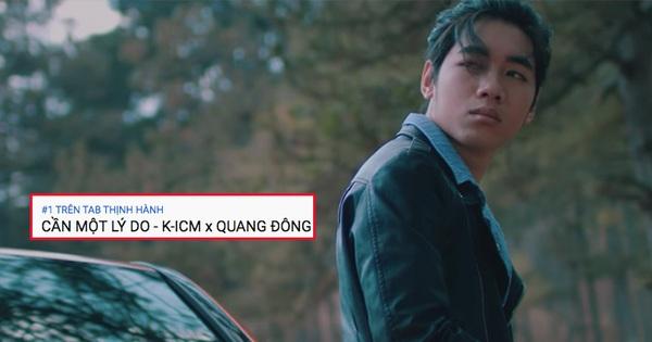 MV mới của K-ICM và ''người thay thế'' Jack trụ vững #1 trending sau 12 tiếng, lọt top 18 MV xem nhiều nhất thế giới