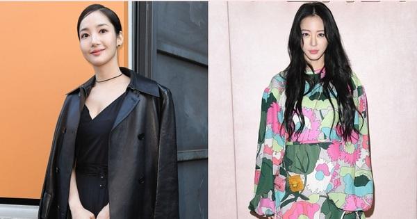 Milan Fashion Week: Park Min Young bỗng hóa ''một mẩu'' vì bộ cánh dìm dáng, Han Ye Seul diện váy sến nhưng vẫn đẹp