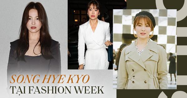 Nghịch lý Song Hye Kyo khi dự Fashion Week: Nhan sắc ngày một ''đỉnh'' nhưng style thì lại nhạt dần đều