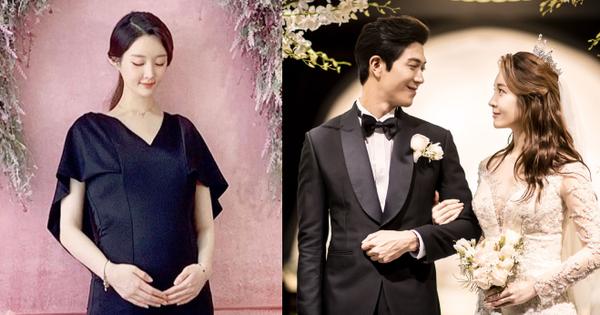 Sau 4 tháng cưới, cựu thành viên T-ara tung ảnh bụng bầu lớn bất ngờ: Gương mặt, thân hình gầy gò gây chú ý