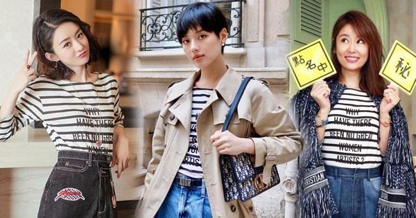Khánh Linh lấn lướt Triệu Lệ Dĩnh, Lâm Tâm Như khi ''đụng hàng'', tiện thể dẫn đầu top street style sao Việt tuần qua