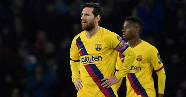 Messi bị phong tỏa hoàn toàn, Barca phải nhờ tới trai đẹp người Pháp mới thoát ''toang'' tại giải đấu danh giá nhất châu Âu
