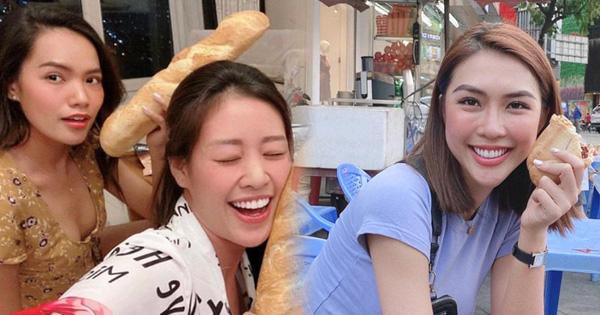 Trong 1 ngày, bánh mì Việt được cả showbiz nhắc tên: Khánh Vân, Tường Linh ai cũng mê, H''Hen Niê tự hào nhớ Miss Universe
