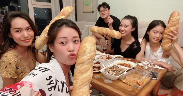 Dàn mỹ nữ ''Hoa hậu Hoàn vũ Việt Nam'' đọ sắc bên bánh mì, Jun Phạm làm luôn 1 ổ để có sức đấm đá