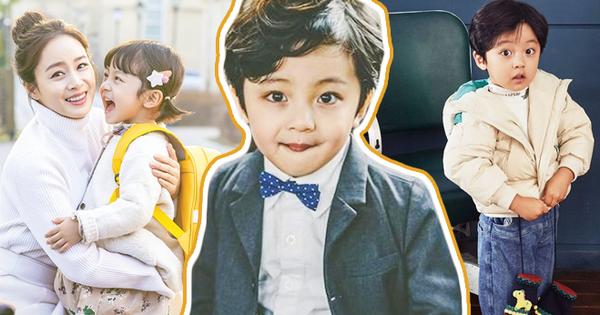 Nhóc tỳ được ''chuyển giới'' thành con gái Kim Tae Hee: Mẫu nhí nam có gương mặt như thiên thần, 5 tuổi đã quá tài năng