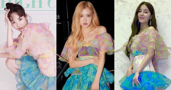 """Cùng một chiếc váy nhưng đến 3 kiểu """"biến hình"""": Stylist YG trổ tài giúp Rosé thắng thế trước Nancy, Park Min Young"""