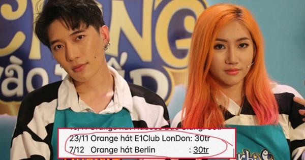 Orange và LyLy tung loạt bằng chứng tố công ty Châu Đăng Khoa: Thù lao gần 10.000 USĐ nhưng chỉ nhận về số tiền thực tế là... 60 triệu VNĐ
