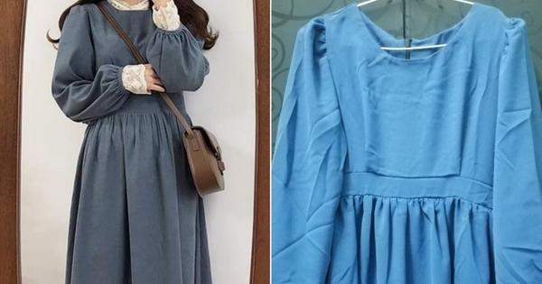 Khách hàng ý kiến vì mua váy baby doll nhận về váy...