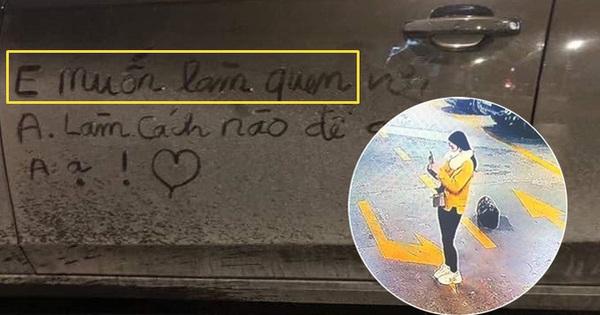 """Xôn xao câu chuyện cô gái viết lời làm quen trên xế sang Audi, bị vợ chủ xe chụp luôn ảnh, đăng lên mạng dằn mặt cực """"gắt"""""""