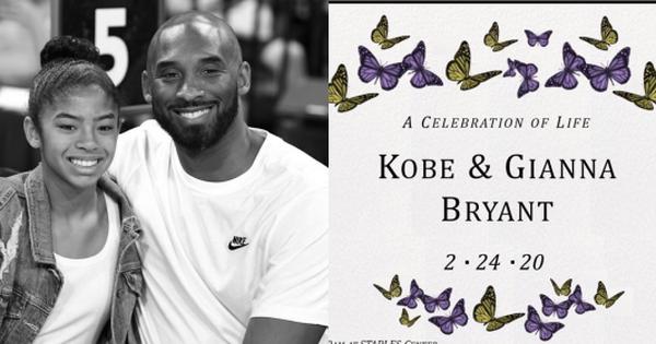 Công bố chính thức về lễ tưởng niệm huyền thoại Kobe Bryant sau vụ tai nạn chấn động: Rùng mình ý nghĩa ngày tổ chức lễ