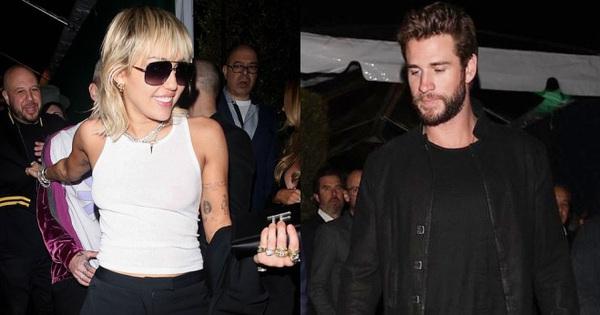 Tình cờ dự sự kiện chung hậu ly hôn, Miley Cyrus và Liam ''tránh nhau như tránh tà'' với 2 biểu cảm đối lập bất ngờ