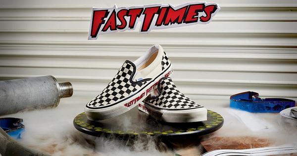 Vans x Fast Times nhắc lại màn debut kinh điển của đôi Slip-on Checkerboard những năm 80