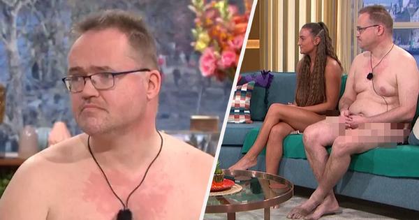 TV Show Anh gây choáng khi để khách mời khỏa thân hoàn toàn trên sóng truyền hình