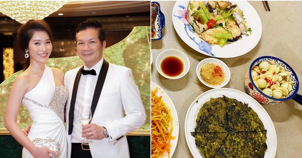 Đại gia bất động sản - Shark Hưng nấu nguyên mâm cơm xịn sò cho vợ: Chỉ cần yêu, không gì là không làm được?