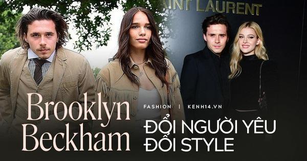 Tình yêu là thứ quyết định style của Brooklyn Beckham: Bên bạn gái ''kém sắc'' thì lôi thôi như ông chú, yêu ái nữ tỷ phú lại bảnh ra trò