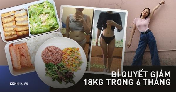 Chỉ trong 6 tháng giảm hẳn 18kg cùng 30cm vòng eo, cô nàng ở Đồng Nai chia sẻ bí kíp khiến bao người phải trầm trồ
