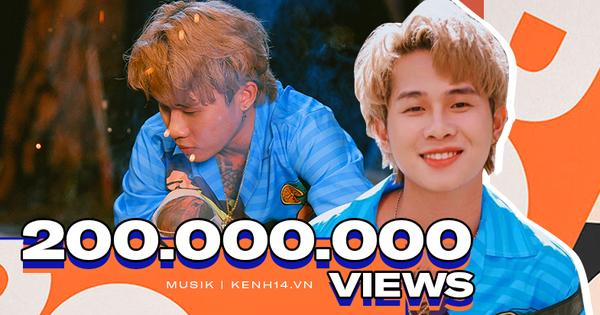 ''Em Gì Ơi'' cán mốc 200 triệu view, Jack đạt kỷ lục Vpop - trở thành nghệ sĩ Vpop đầu tiên sở hữu 4 MV có thành tích ''khủng'' này!