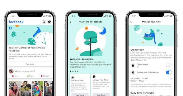 Facebook ra mắt tính năng giúp người dùng ''tự cai'': Hạn chế thời gian sử dụng, báo cáo thói quen mở ứng dụng hàng tháng