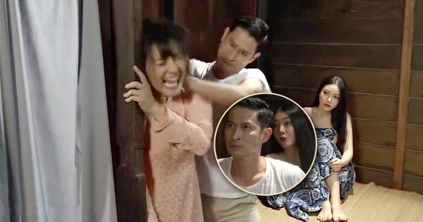 Bị bắt quả tang cặp bồ, Huy Khánh chửi ngược rồi đuổi cổ vợ ở Luật Trời tập 5 với cái cớ ''làm ** cũng không xong''