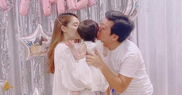Không còn giấu giếm, Trường Giang chính thức khoe ảnh con gái đầu lòng nhân dịp sinh nhật tuổi 37