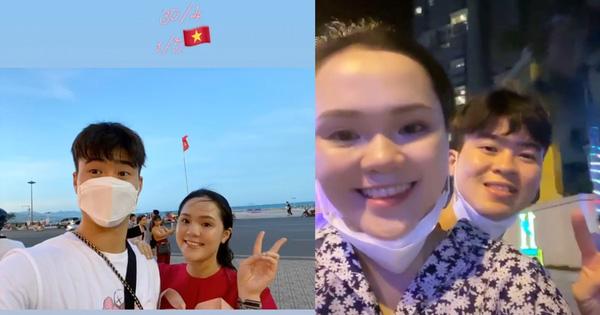 """Duy Mạnh cùng Quỳnh Anh tận hưởng kì nghỉ đúng nghĩa đầu tiên sau đám cưới tiền tỉ, chọn đi xích lô để """"trở về"""" thanh xuân"""